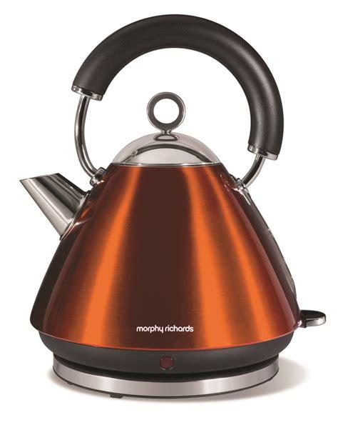 Toaster Kettle Set Morphy Richards 43778 Accents Copper Kettle 1 5l