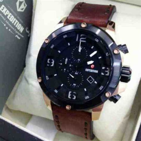 Expedition E 6698 jual expedition e6698m black rosegold baru jam tangan