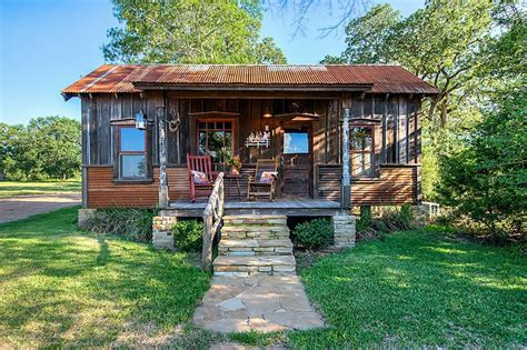 micro house tiny house on texas sized acreage