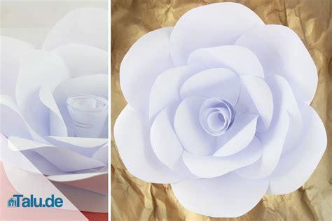 Basteln Mit Papier Blumen by Papierblumen Selber Basteln 5 Ideen Talu De
