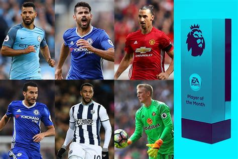 epl player of the month october 2017 vote for your ea sports player of the month