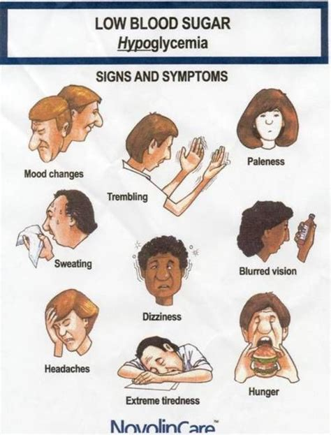 Light Headed Symptoms by Signs And Symptoms Associated With Hypoglycemia Include