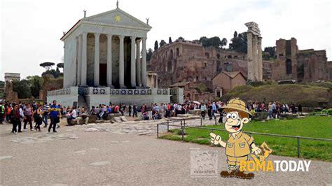ingresso foro romano visita guidata per bambini al foro romano
