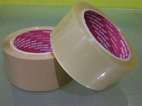 Lakban Warna Putih Murah lakban bening coklat dan kertas struk thermal paper merk