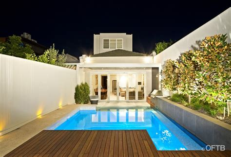 Oftb melbourne landscaping pool design amp construction project plunge pool inc window pool