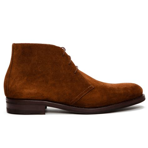brown chukka boots ovadia and sons suede chukka boots in brown for lyst
