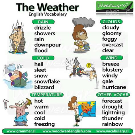 related words words related to weather