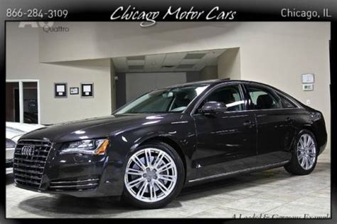Audi A8 Premium Package by Sell Used 2011 Audi A8 Quattro Premium Convenience Package