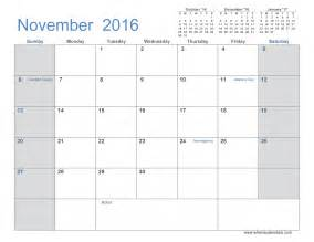 Calendar Month Template by November 2016 Calendar Printable 3 Month Template