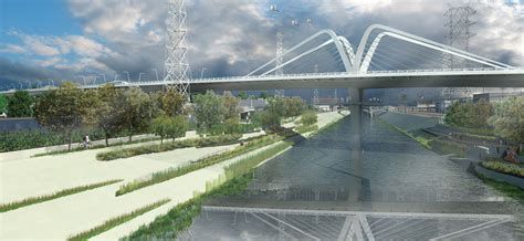 city announces new design for sixth street bridge kcet aiming high finalists for 6th street bridge and