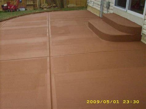 Color Concrete Patio the concrete guys quot colored concrete quot
