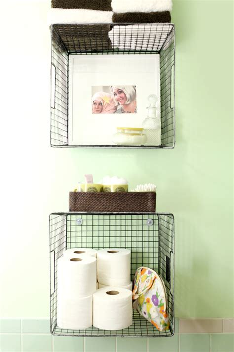 homemade bathroom decor diy bathroom decor storage the budget decorator