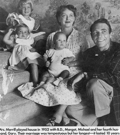 betty davis children bette davis 1908 1989 husband gary merrill 1915