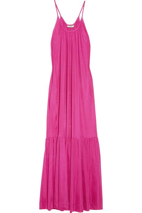 Fashion Fix Fashion Offendersnicole Richies Maternity Linephoebe Philo To Comeback by Gloria Satin Jersey Maxi Dress 9 Stylish Dresses To Take