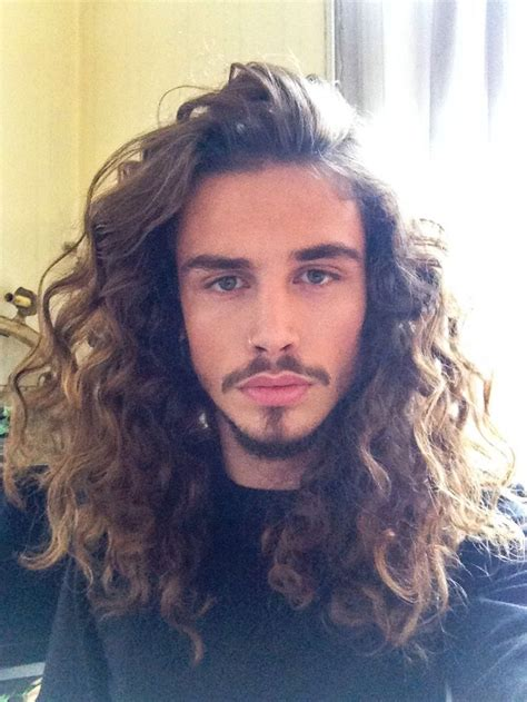 how to curly hair like a dominican man 308 best men s long hair images on pinterest male hair