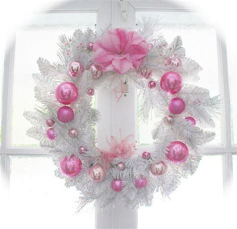 147 best shabby chic christmas wreaths images on