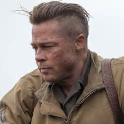 army haircut fury brad pitt undercut awesome wodip com