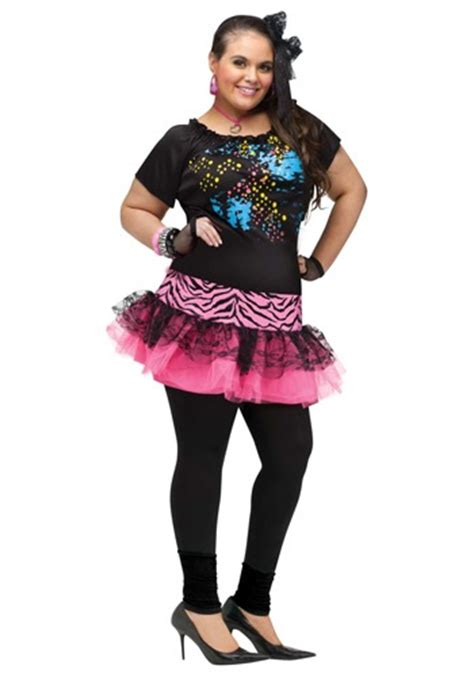 80s theme party costumes plus size 80s pop party costume
