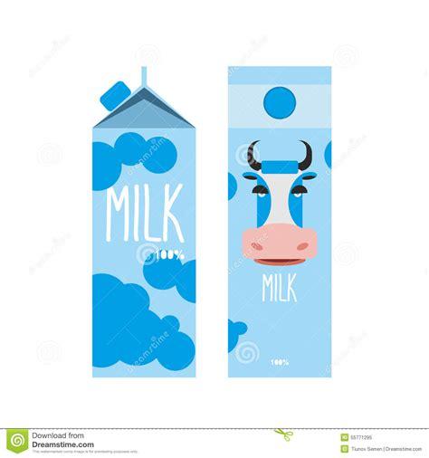 milk design in posen il empaquetado de la leche paquete del dise 241 o de la plantilla
