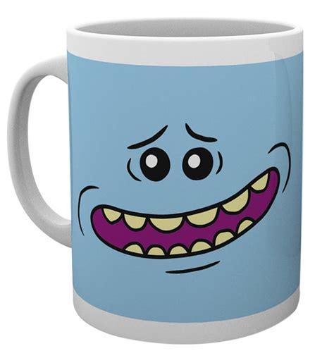 Mug Rick And Morty Rick Shove It Up rick and morty mr meeseeks mug