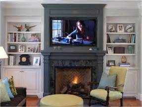 Fireplace Bookshelves Design Fireplace Mantel And Bookcase Designs Ayanahouse