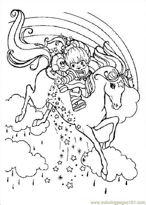 rainbow brite coloring pages free printable coloring pages rainbow bright cartoons gt rainbow brite