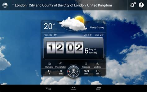 live weather apk weather live v4 6 apk android apps free