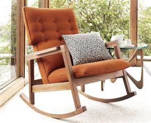 Traditional Wooden Rocking Chair » Home Design