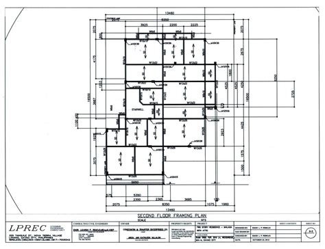 structural plan of a house house plans