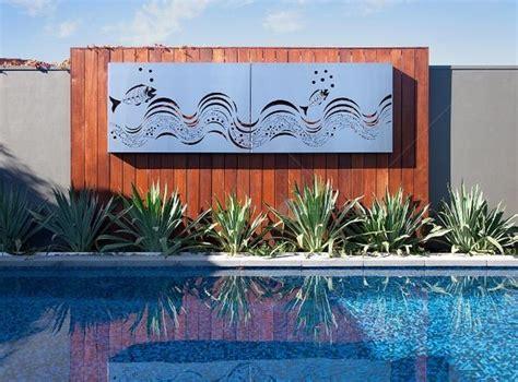 backyard wall art make your outdoor wall art ideas your neighbours envy interior design ideas by