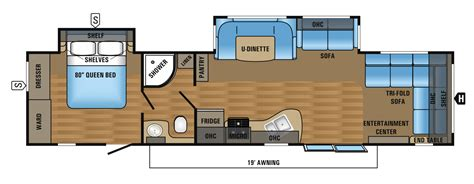 best travel trailer floor plans jay flight travel trailer floorplans inspirations and 2