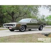 1971 Plymouth Satellite Sebring  Hidden Treasures Mopar Muscle