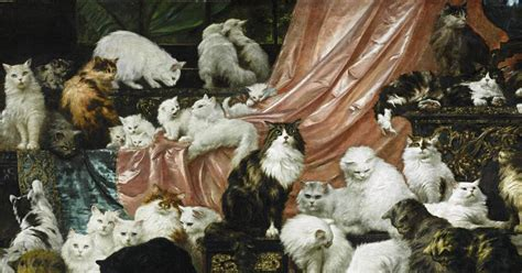 best painting in the world world s largest cat painting sells at auction opinion