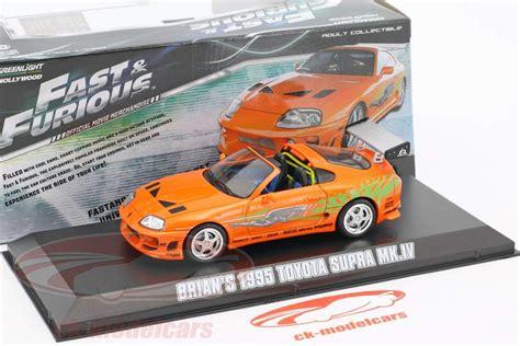 Greenlight Fast Furious Toyota Supra Mk Iv ck modelcars 86202 toyota supra mk iv 1995 fast and furious car 1 43 greenlight ean