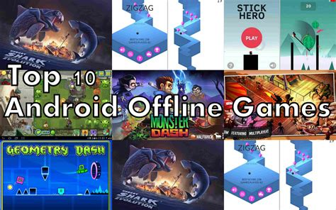 free download game mod offline for android top 10 best free offline games for android list