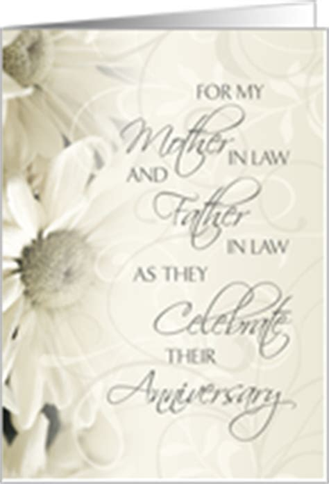 Wedding Anniversary Wishes For Inlaws by Wedding Anniversary Cards For Inlaws From Greeting Card