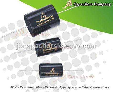 jb jfx capacitor jb jfx premium metallized polypropylene capacitors axial purchasing souring ecvv