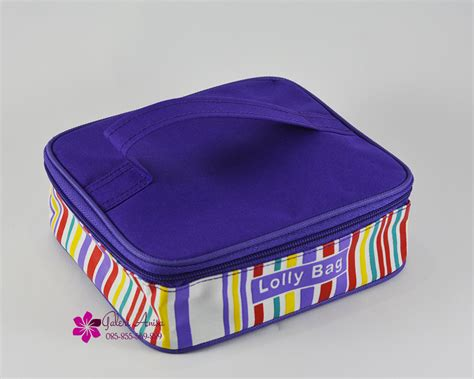 Tupperware Lolly Tup New Hijau lolly bag tas bawa bekal makan lolly tup tupperware