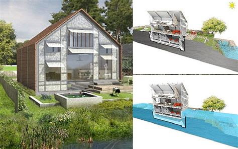 thames floating house permission granted for britain s first hibious house on