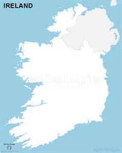 Ireland Blank Map by Ireland Outline Map Ireland Blank Map