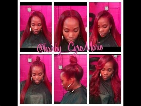 sewin with either side part versitle 3 way part versatile sew in with flip over method
