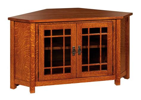 Corner Cabinet Tv by Amish Lancaster Corner Tv Cabinet