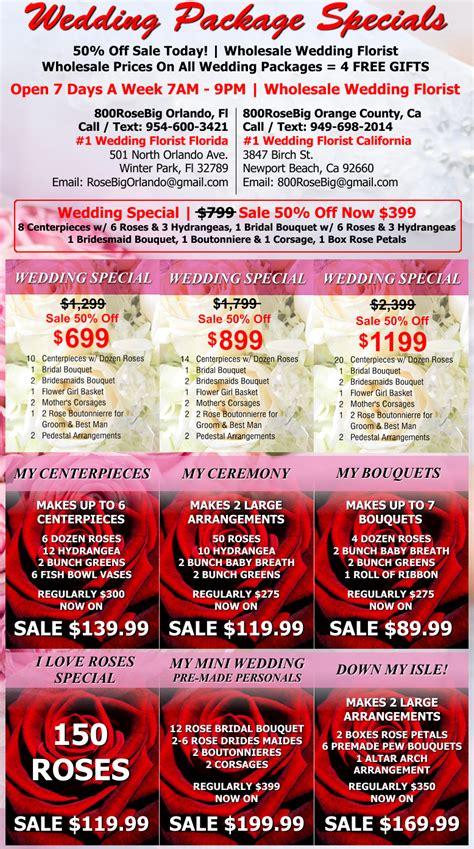 Wholesale Wedding Flowers by Wholesale Wedding Flower Packages Orange County Wholesale