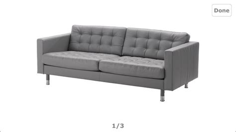 ikea grey leather sofa ikea grey leather sofa living room pinterest leather