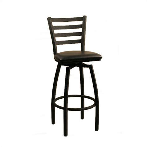 metal frame vertical back swivel bar stool osl2090bsw