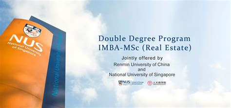 Best Real Estate Mba In The World by Mba Program In China School Of Business Ruc