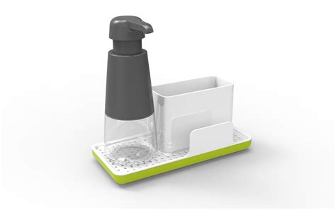 soap caddy for kitchen sink enbrite soap dispenser sink caddy