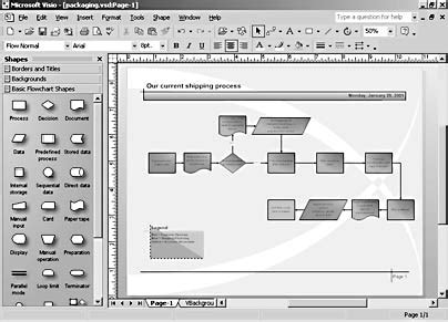 visio number shapes creating a basic flowchart microsoft visio version 2002