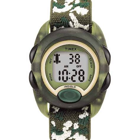 timex youth digital green camo wholesalers