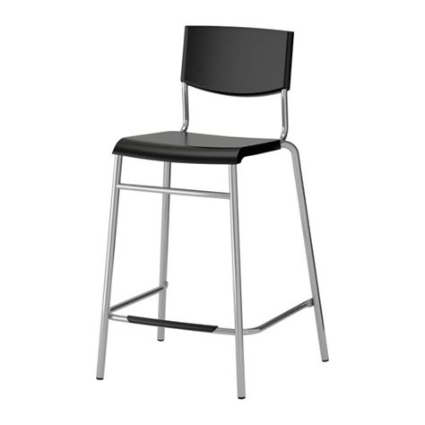 bar stools images stig bar stool with backrest 24 3 4 quot ikea